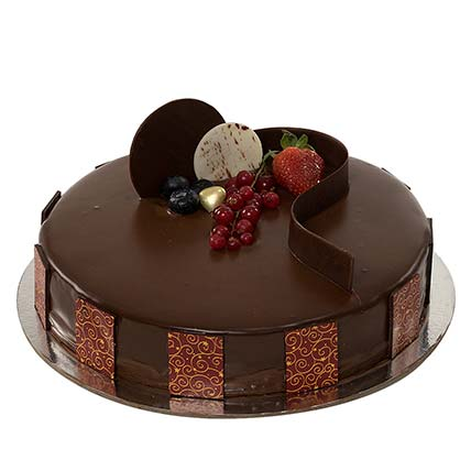 1Kg Chocolate Truffle Cake:  Gifts Delivery