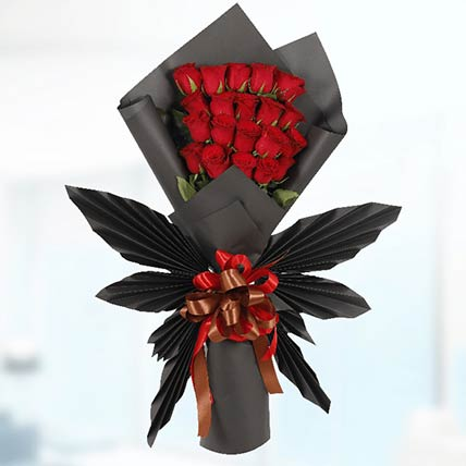 Red Roses Butterfly Bouquet: Flower Bouquet In Qatar