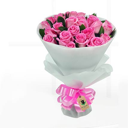 Stems Pretty Pink Roses Bunch: Same Day Delivery Gifts