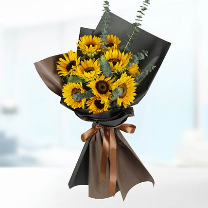 Stems Sunflower Bouquet: Sunflower Bouquet