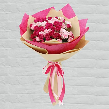 Pink Rose Bouquet: Gifts Offers and Deals