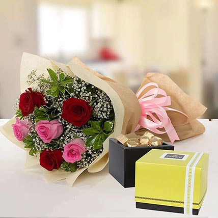 Beautiful Roses & Patchi Chocolates: Midnight Gifts Delivery In Qatar