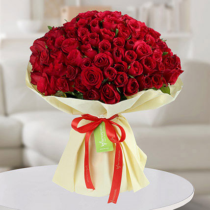 Premium Bouquet of 150 Red Roses: Hug Day Gifts