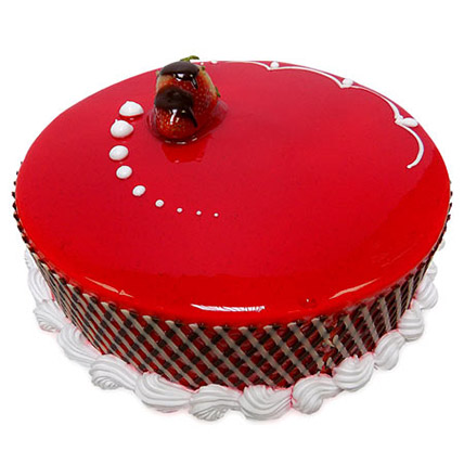 1Kg Strawberry Carnival Cake: Strawberry Cakes