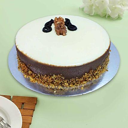 Beautiful Choco Walnut Cake: Christmas Cake