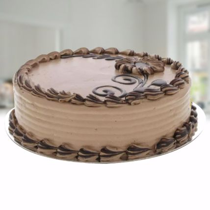 Choco Butter Cream Cake: Send Chocolates Cakes to Qatar