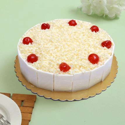 Mouthwatering Whiteforest Cake: Same Day Gift Delivery In Qatar