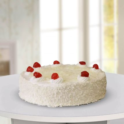 White Forest Cake: Same Day Gift Delivery In Qatar