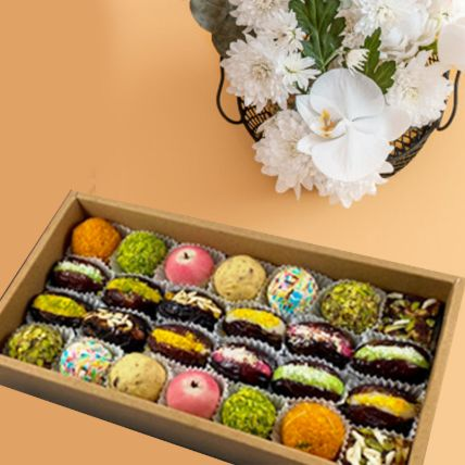 Pearl Dry Fruit Sweets Box: Midnight Gifts Delivery