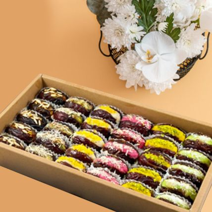 Royal Assortment Of Mejdool Dates Sweets Box: Ramadan Gifts Qatar
