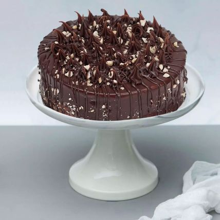 Crunchy Chocolate Hazelnut Cake: Chocolate Cake