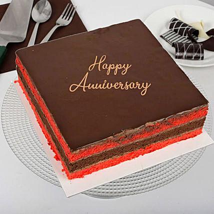 Raspberry Red Velvet Anniversary Cake: Red Velvet Cake