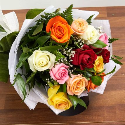 Mix Presentation Bouquet: Hug Day Gifts