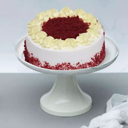 Creamy Red Velvet Cake: Same Day Gift Delivery In Qatar
