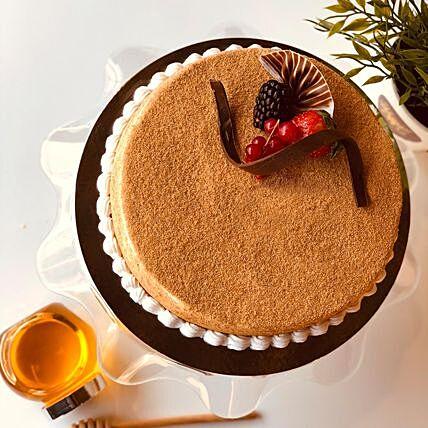 Lovable Cookie Dough Honey Cake: Send Cakes to Qatar