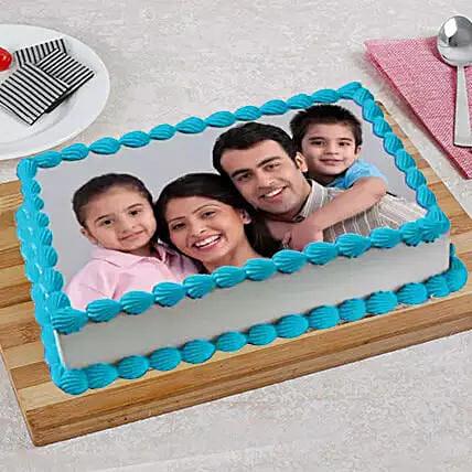 Tempting Photo Cake: Personalised Photo Cakes