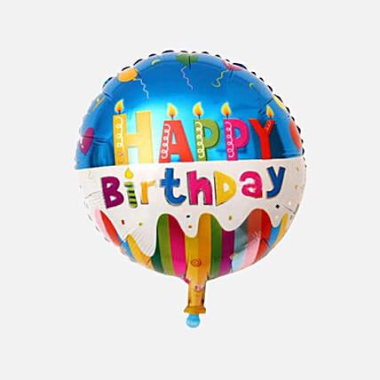 Happy Birthday Foil Balloon: Balloons