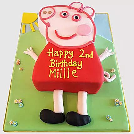 Pig Peppa Cake: Cartoon Cakes