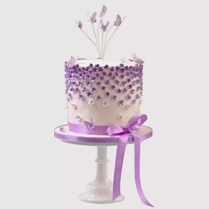 Pretty Butterfly Cake: Designer Cakes