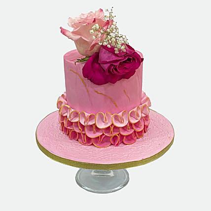 Floral Cake: Designer cakes