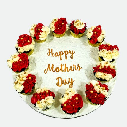 Happy Mothers Day Cup Cakes: Cupcakes Delivery In Qatar