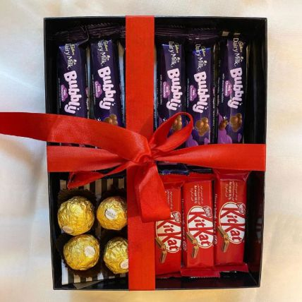 Assorted Chocolates Hamper: Ramadan Gifts Qatar