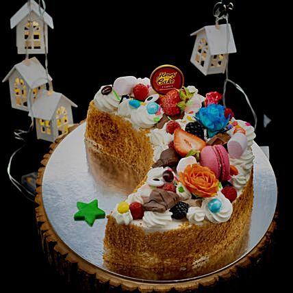 Honey Ramadan Special Cake: