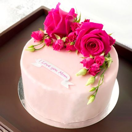 Fresh Flower Cake: Cake Delivery In Qatar