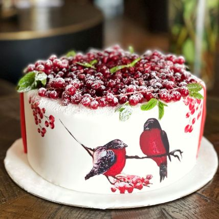 Pomegranate Cake: Wedding Cakes