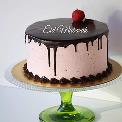 Strawberry Chocolate Cake For Eid: Eid Mubarak Gifts