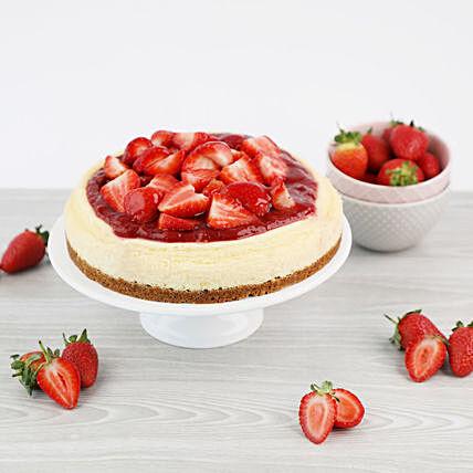 Strawberry Cheesecake: DSRT LAB Cakes