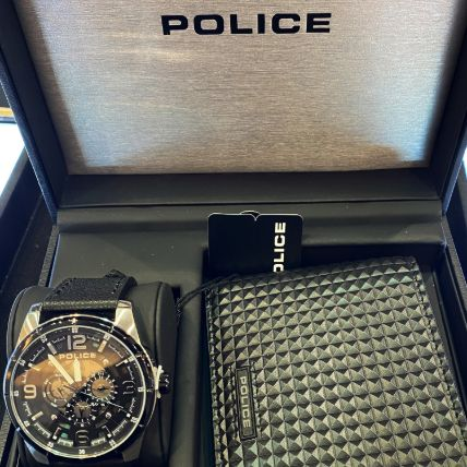Set Of Police Wallet & Watch: Watches