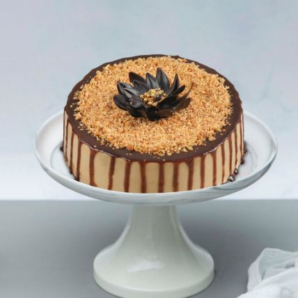 Yummy Butterscotch Cake: Send Cakes To Lusail