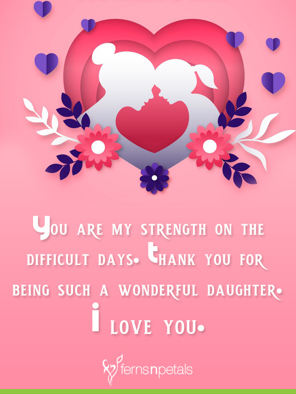 lovely wishes for daughter day