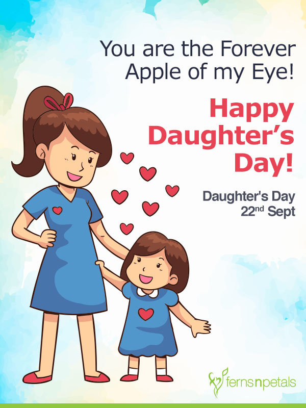 wishes for daughter day