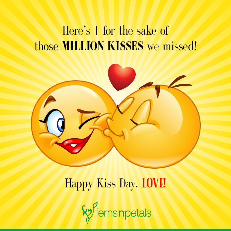kiss day quotes for friends