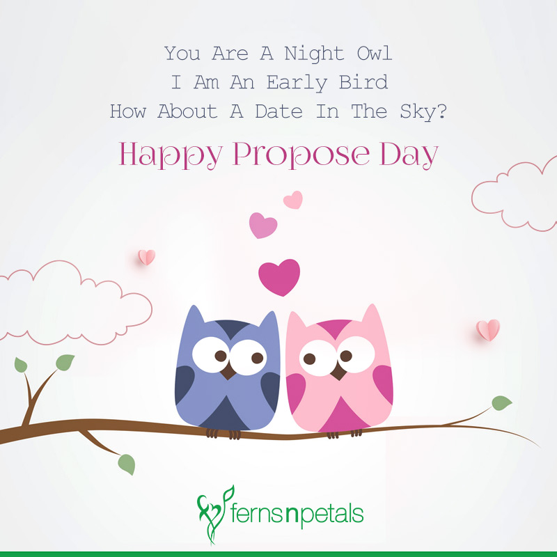 messages for propose day