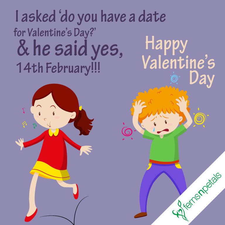 valentine day funny wishes