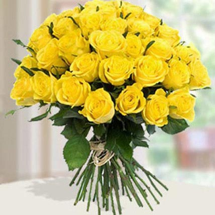 30 Yellow Roses Bouqet