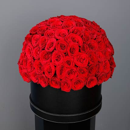 Amazing Red Roses Box