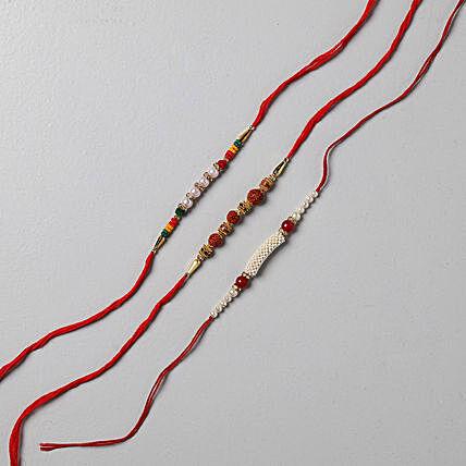 delightful rakhi set of 3
