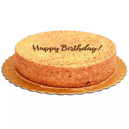Birthday Special Honey Cake - Half Kg