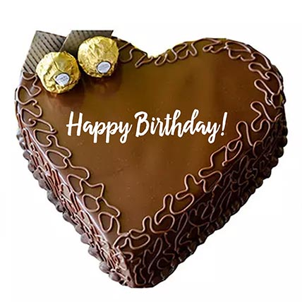Happy Birthday Ferrero Chocolate Cake - 1 Kg