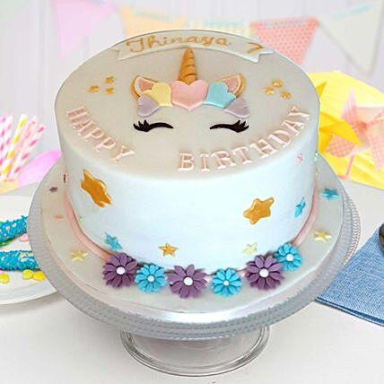 Pretty Unicorn Vanilla Cake 2.5 Kgs