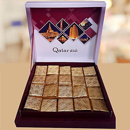 Qatar Memorabilia Assorted Turkish Chocolate Box
