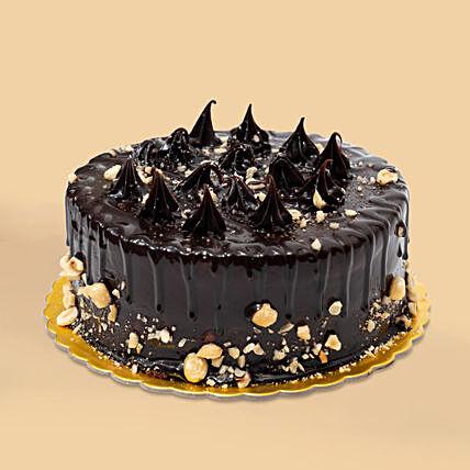 Crunchy Chocolate Hazelnut Cake- Half Kg