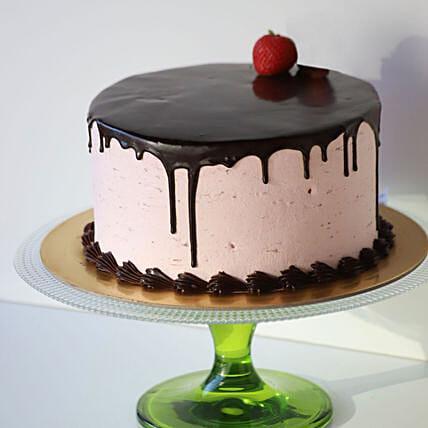 Silken Strawberry Chocolate Cake 1 Kg