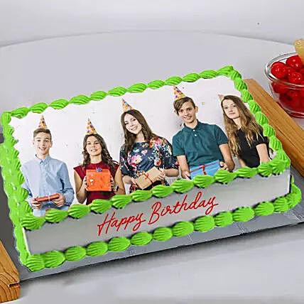 Birthday Photo Cake 2 Kg