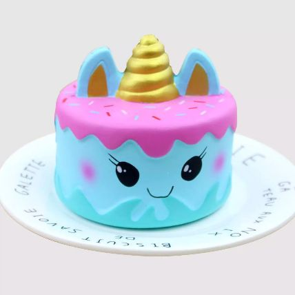 Adorable Unicorn Cake