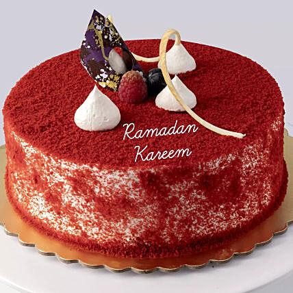 Red Velvet Cake For Ramadan 1.5 Kg